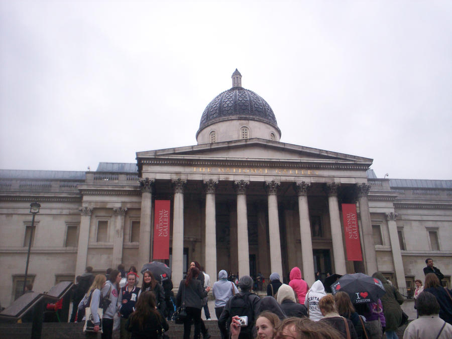 The National Gallery by Holsmetree