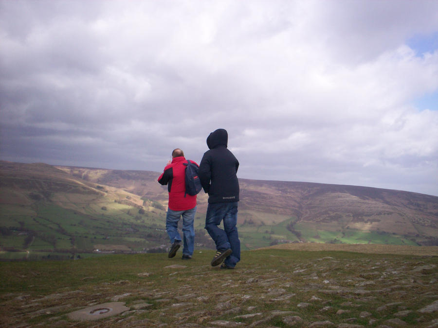 Again from Mam Tor's peak by Holsmetree