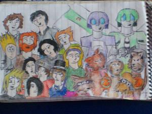 My O.C.s Artist-k-9, my O.C.s