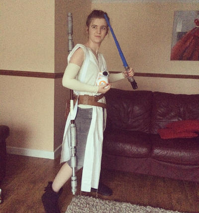 Might start posting back here here's me as Rey by Holsmetree