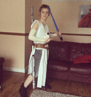 Might start posting back here here's me as Rey