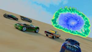 Hot Wheels Highway 35 Promotional Art Recreation