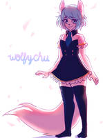 [FA] Wolfychu by BlackmoonSilvereye