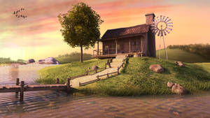 House On A River by AhmadTurk
