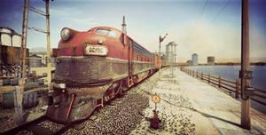 Train Render Version02 by AhmadTurk
