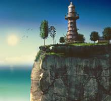 Cliff Edge by AhmadTurk