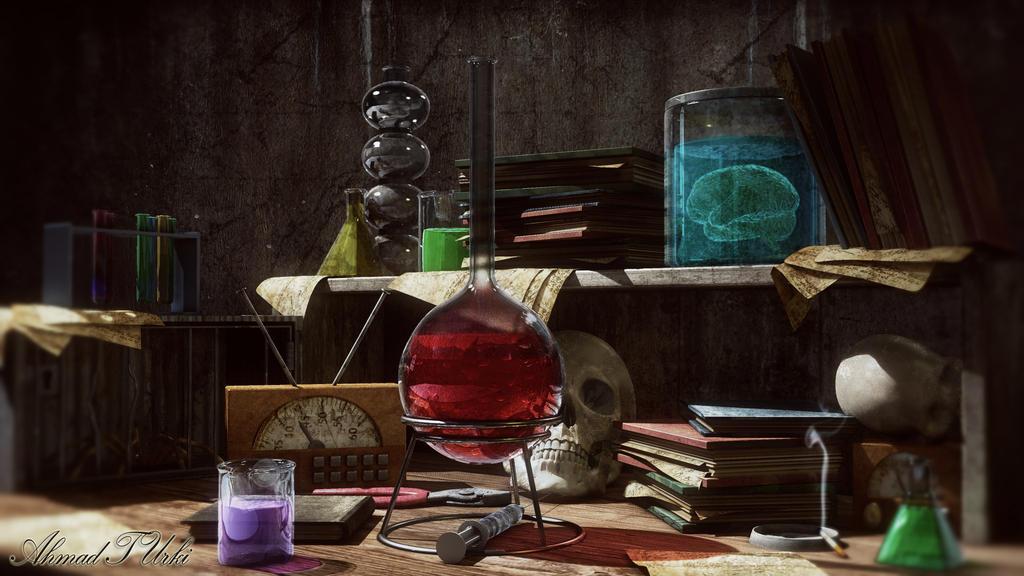 Mad Science Render by AhmadTurk
