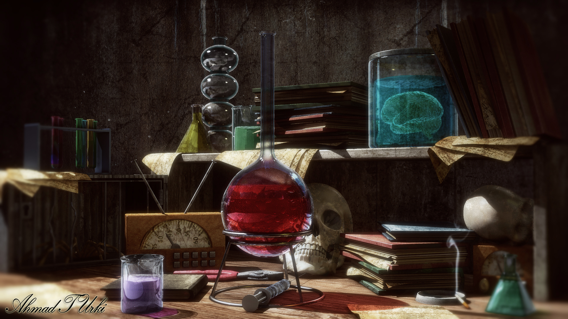 science wizards lab by - photo #40