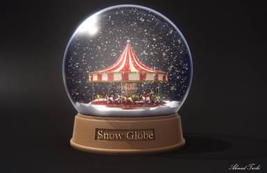 Snow Globe Render by AhmadTurk
