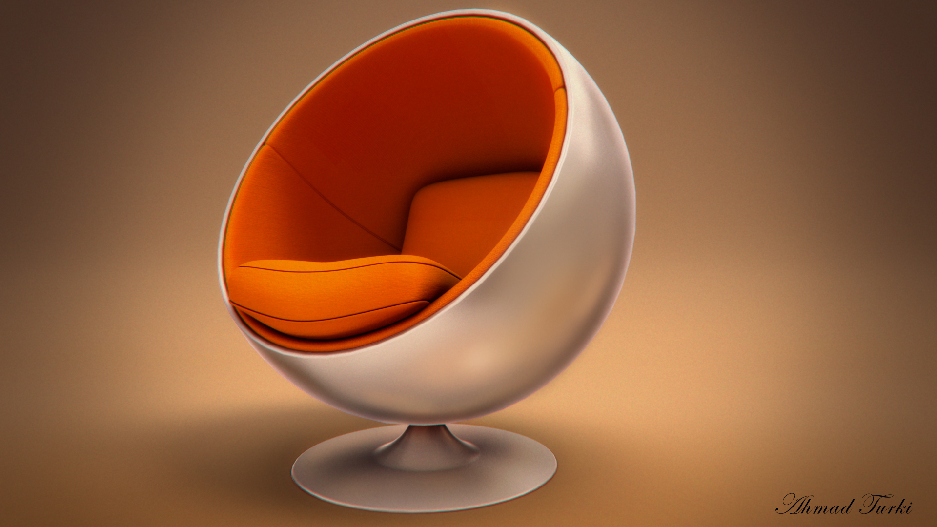 Egg Chair Render by AhmadTurk on DeviantArt