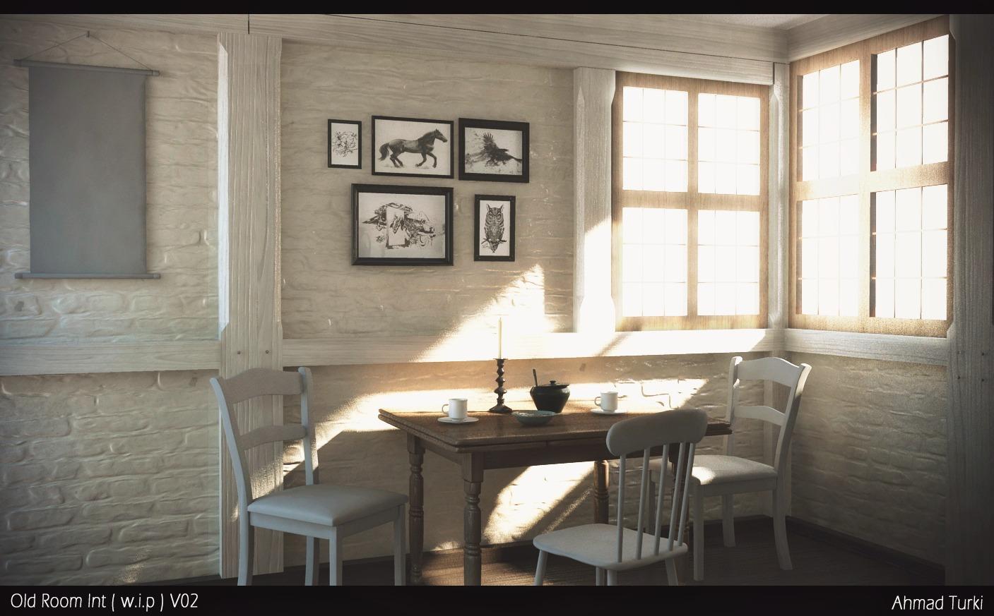 Old Room Interior WIP V02
