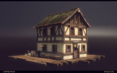 LowPoly House Render by AhmadTurk