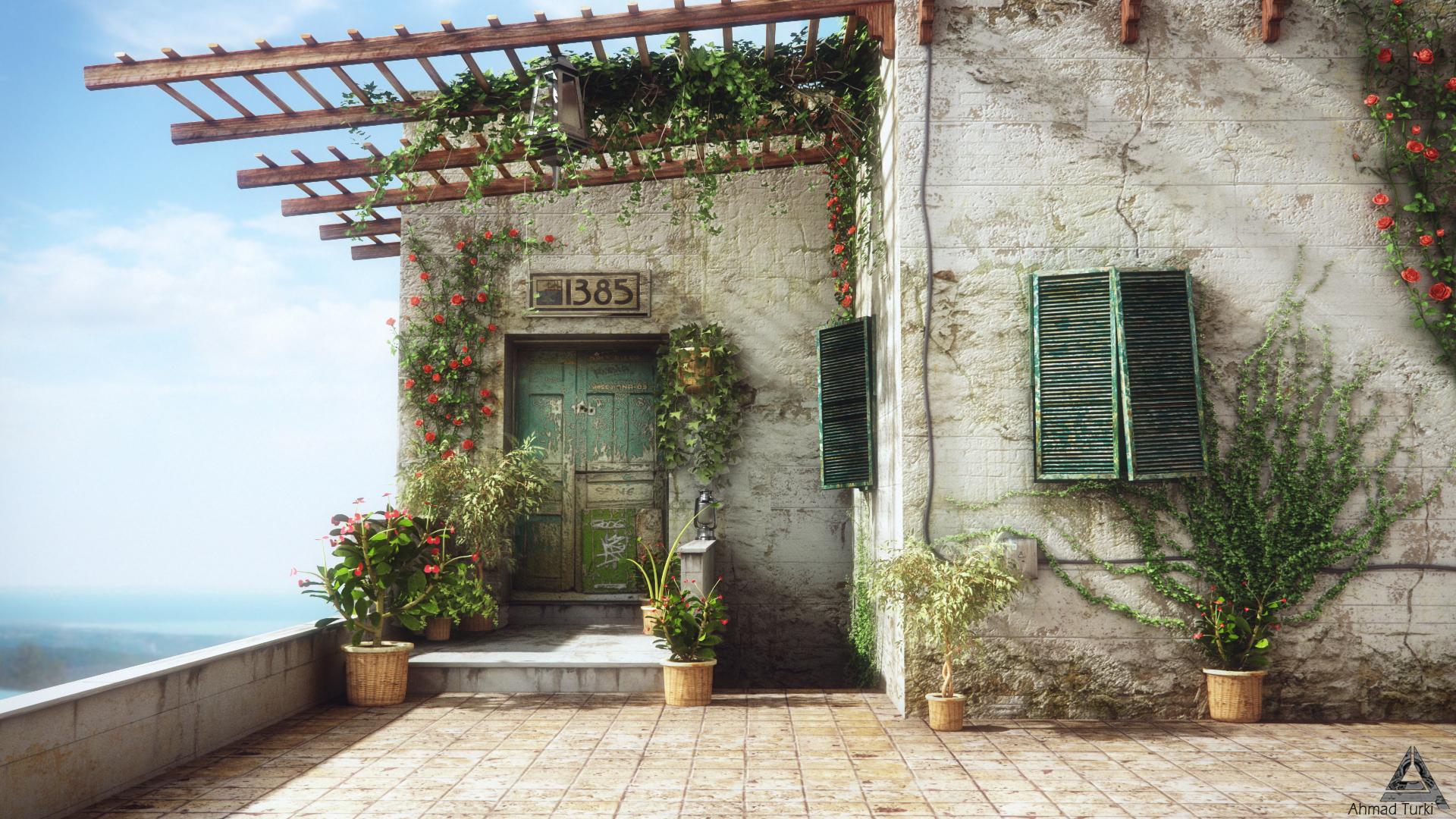 Balcony Render by AhmadTurk
