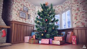 Christmas Tree by AhmadTurk