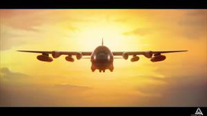 plane by AhmadTurk