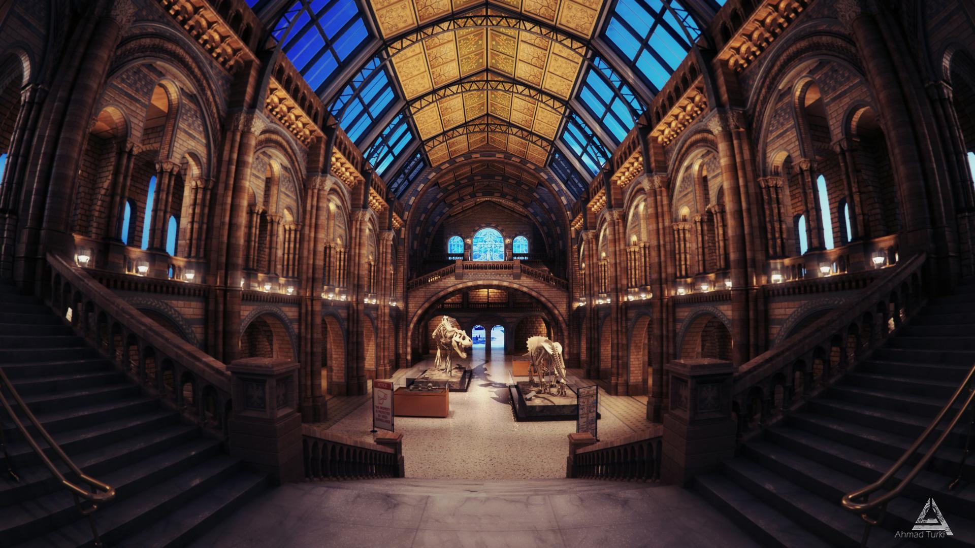 History Museum NightShot by AhmadTurk
