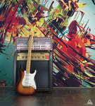 Amp and Guitar