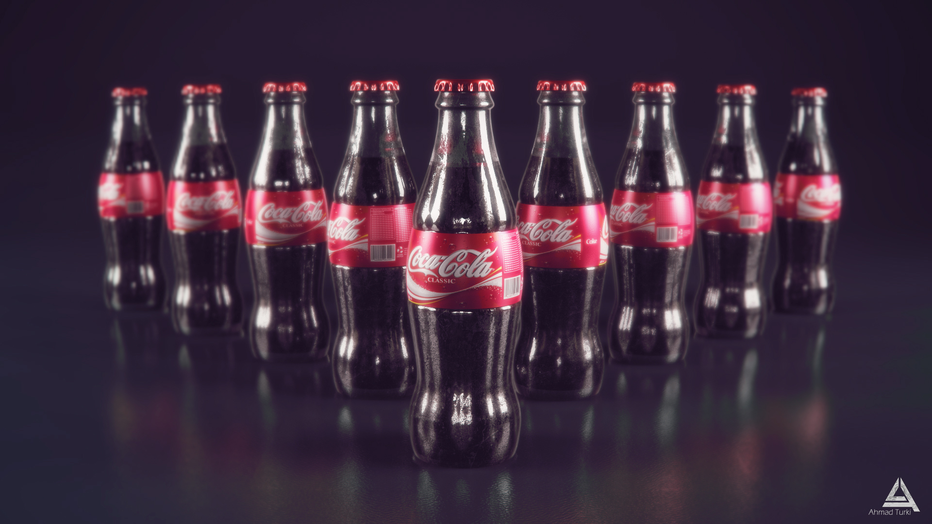 Coca Cola Bottle Wallpaper Png