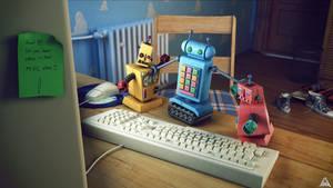 Fighting Robots by AhmadTurk