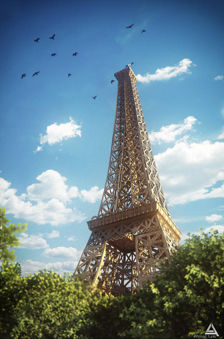Eiffel Tower by AhmadTurk