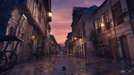 Old Street SunetSet by AhmadTurk
