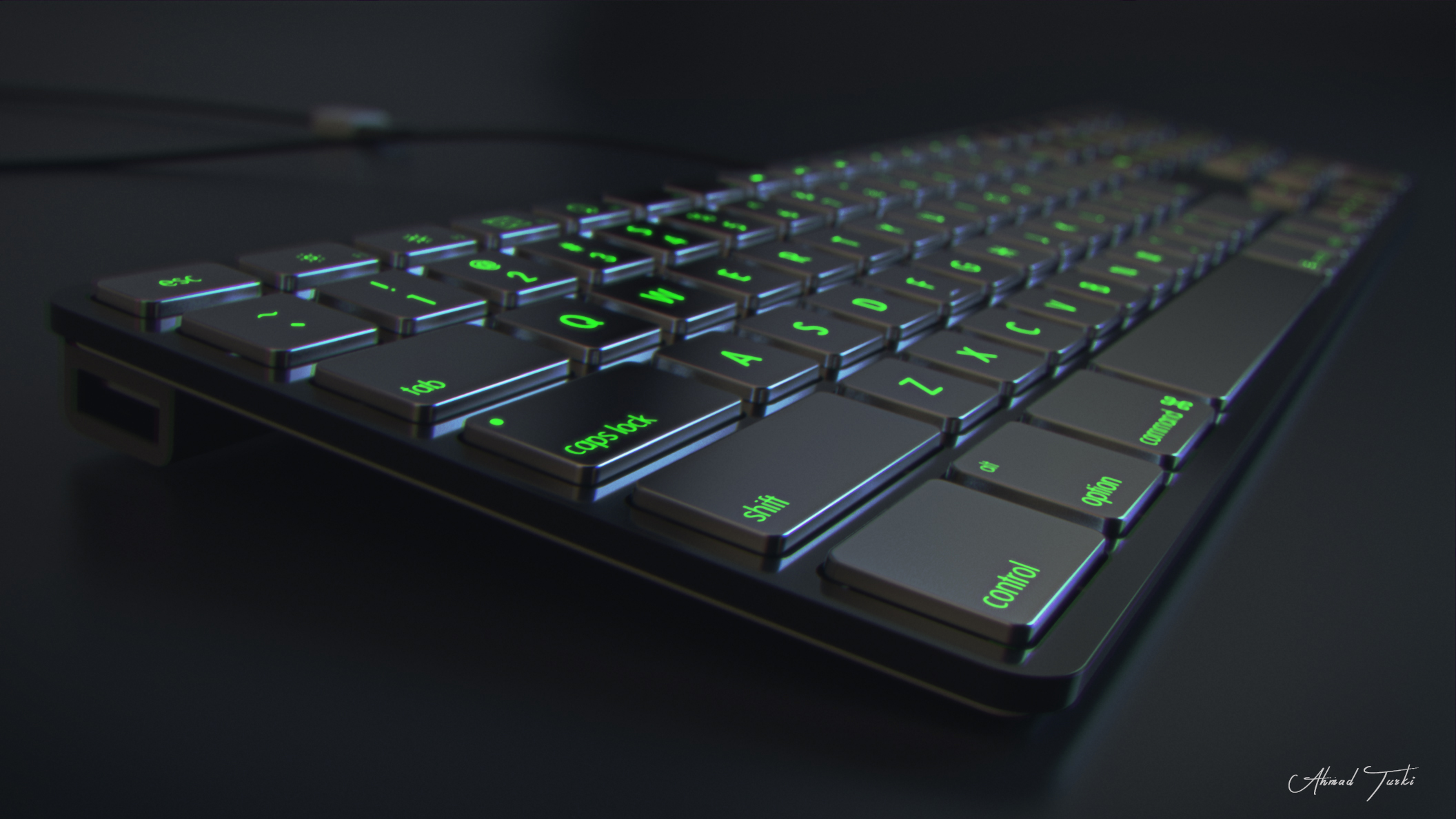 Metallic KeyBoard by AhmadTurk