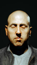 CGI Portrait   Arnold SSS Study.
