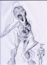 Deformidad Monstruosa #3 by 00Zombie00