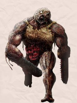 Biggy man (Splatterhouse)