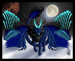 Dragonwolfess by Araless
