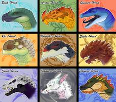 AROKAI Dragon Head Ideas by Araless