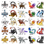 Mythical Creatures Adoptables -Closed-