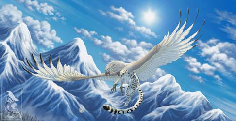 Blue Skies by Araless