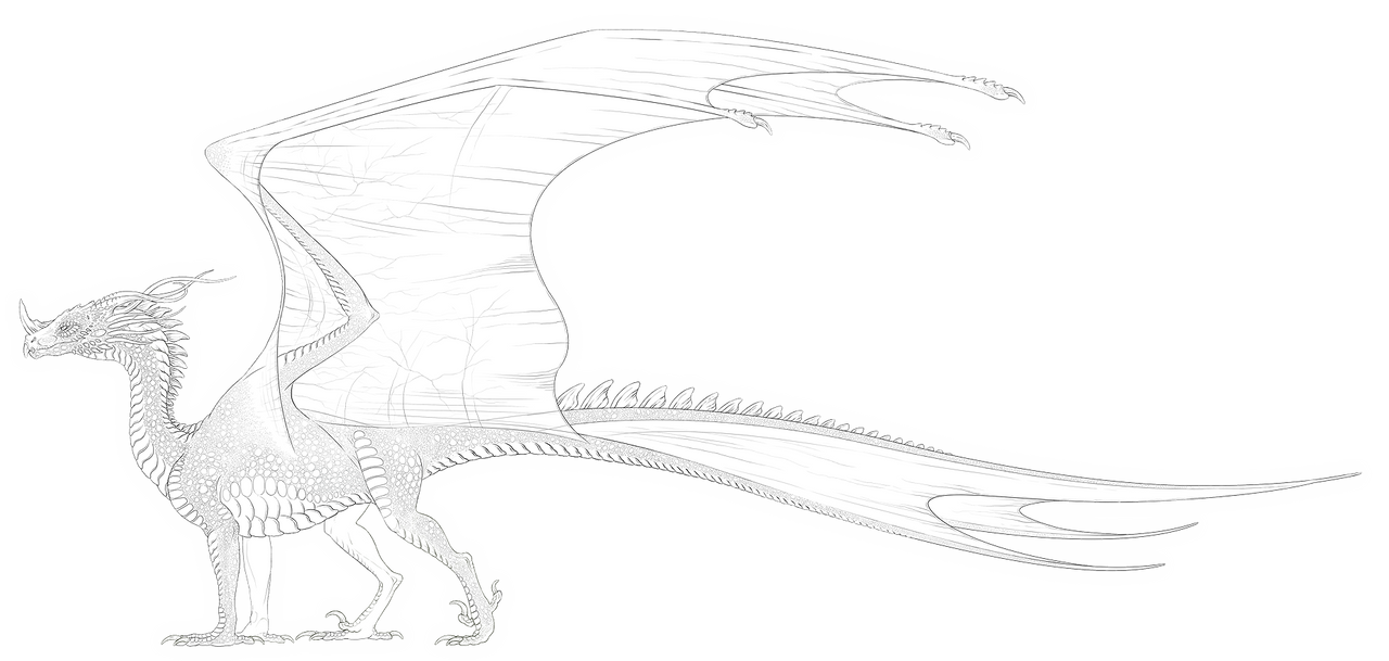 Sikanderjar - species sideview WIP - by Araless