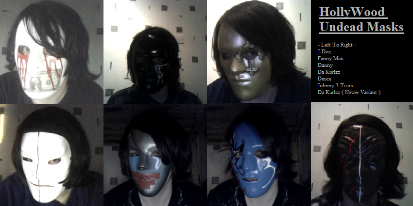 HollyWood Undead Masks By TommEdge4Life