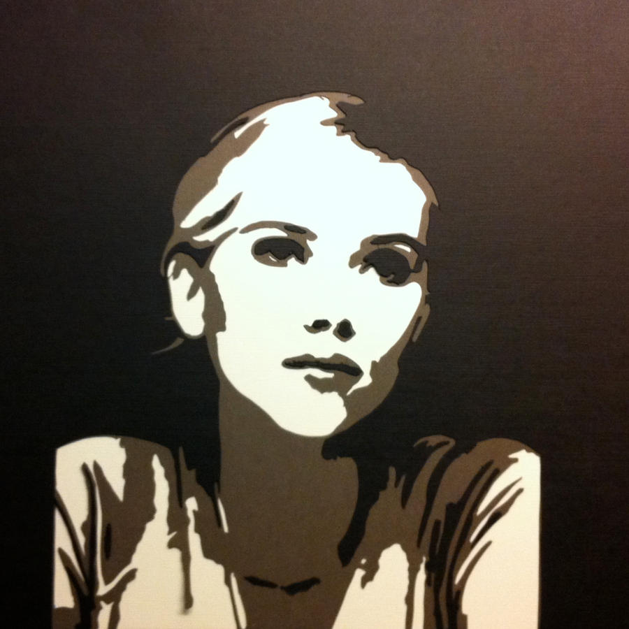 Как сделать трафарет для портрета