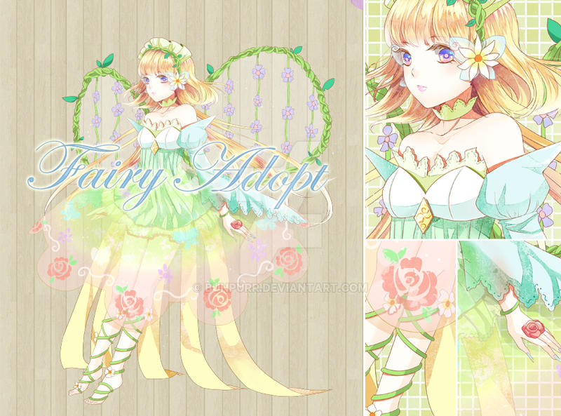 Adoptable - Fairy [CLOSED] by bunpurr