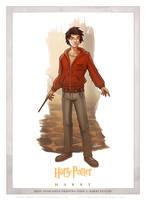 Day 2: Harry by Eddy-Swan-Art