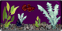 Silver Ruby Moon PixelFish - TheRaaviChronicles by thetauche