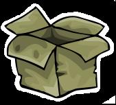 Soggy.Box.Sticker by thetauche