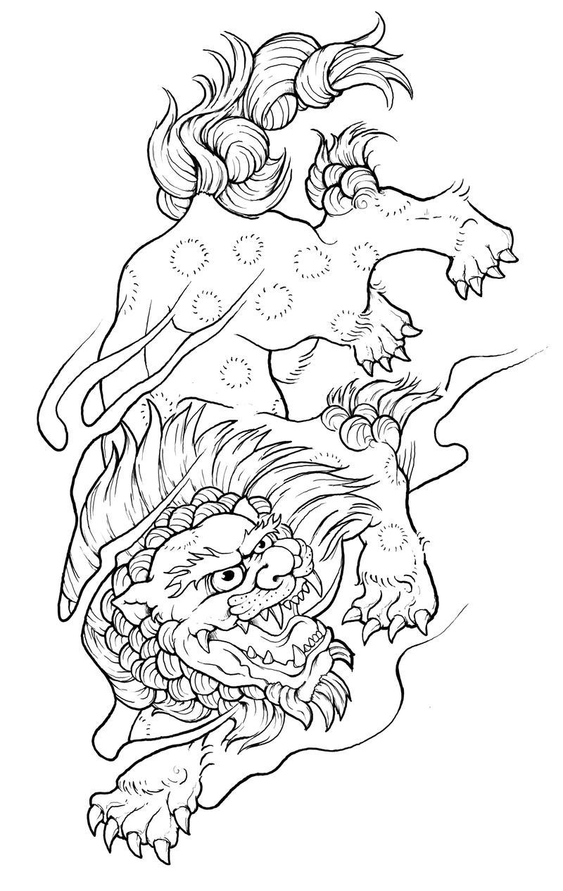 Fu Lion by NittyGritty71