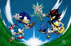 Sonic Generations Showdown by MylesAnimated
