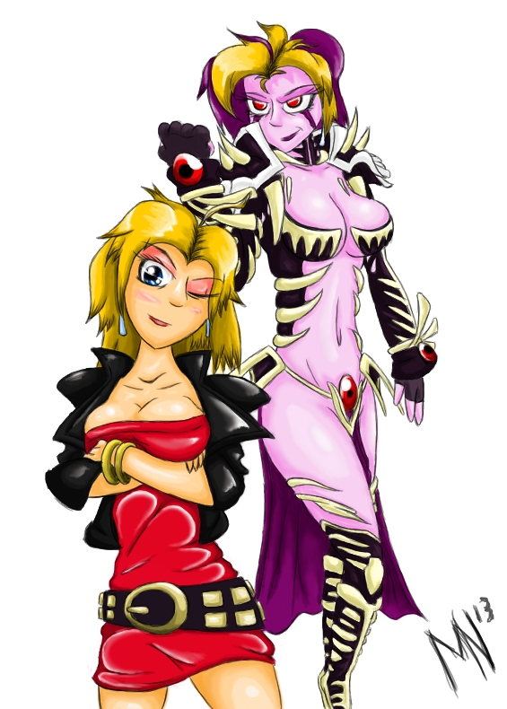 Marian And Evil Marian By Mylesanimated On Deviantart