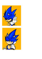 Sonic Yes/No meme Template