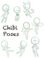 Chibi Pose Dump by ConcreteDreams