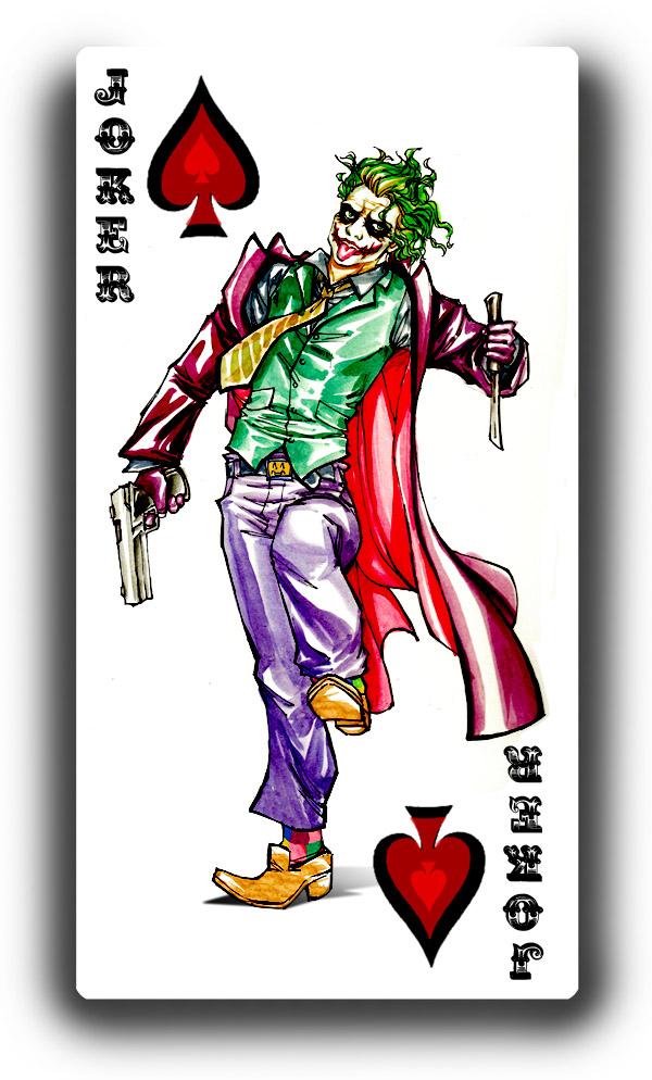 joker card art - photo #20