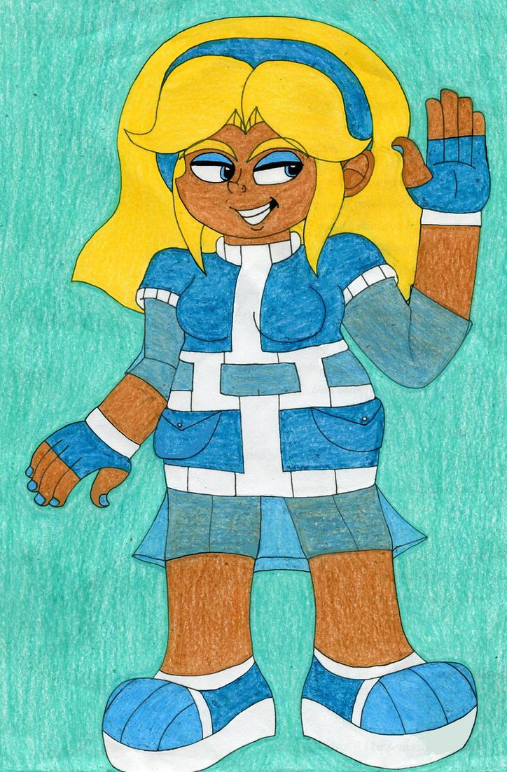 Sonic Boom! Maria Robotnik by NatariSaru