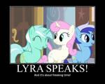 Lyra Heartstrings Motivational