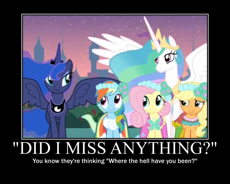 Princess Luna Motivational by CrossoverPrincess