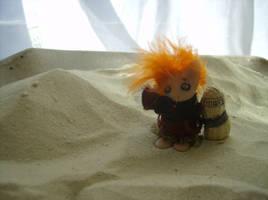 Gaara of the tiny desert by RuthLampi
